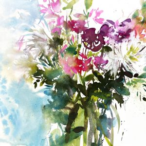 Scentsation watercolour painting